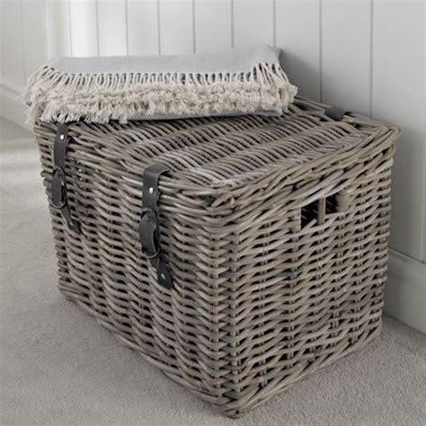 large basket for storing throw pillows fisherman s wicker basket large baskets boxes crocks