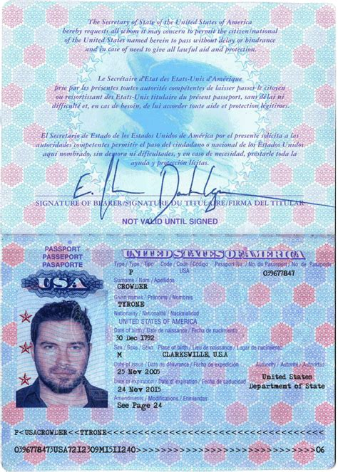 usa id card template 11 usa passport template psd images blank passport