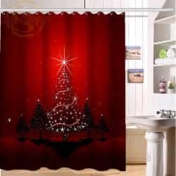 Bathroom Curtain Hooks Online Get Cheap Christmas Shower Curtains Aliexpress Com