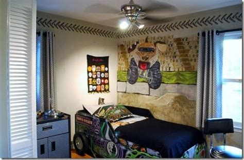 truck room grave digger bedroom decor coma frique studio 6acfc5d1776b