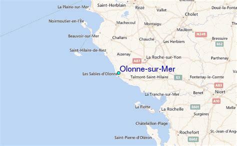 Olonne sur Mer Tide Station Location Guide