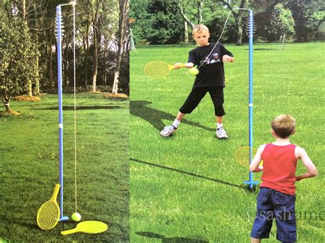 swing ball set children double player swingball game quality rotor spin
