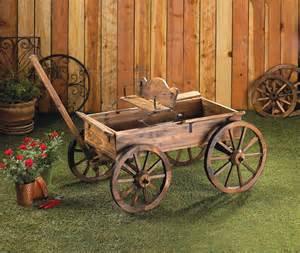 wholesale rustic buckboard wagon garden decor rustic