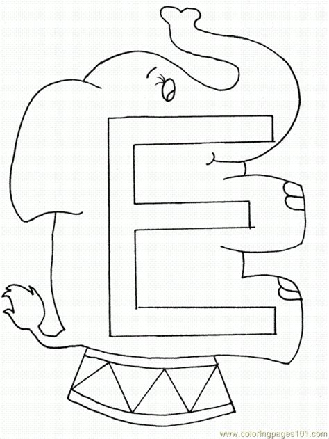 coloring pages of letter e coloring pages r case letter e coloring page animals