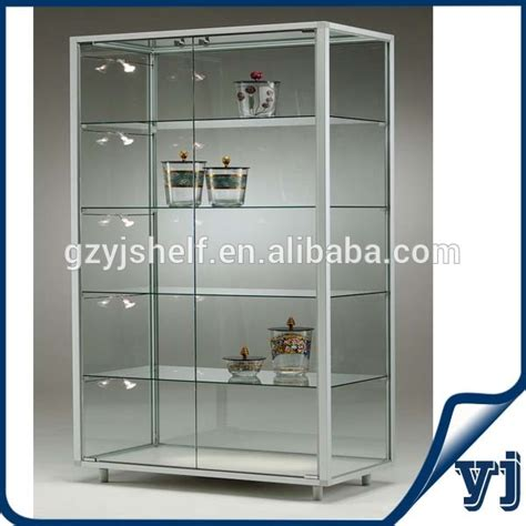 Retail Glass Display Cabinets Singapore Custom Hexagon Sliding Glass Door Display Glass Wall