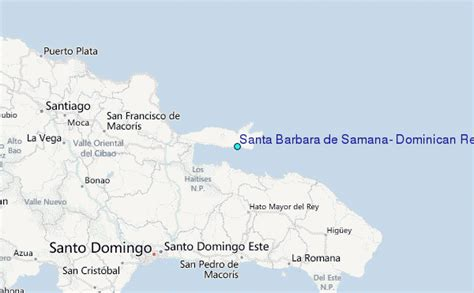 santa barbara tide tables santa barbara de samana republic tide station location guide