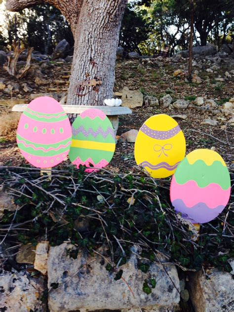 Best Photos Of Easter Yard Easter Egg Yardstake Yard Decorations Great