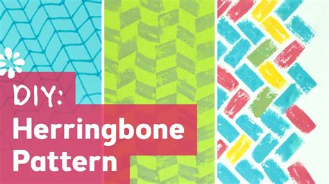 herringbone pattern youtube how to make herringbone pattern youtube