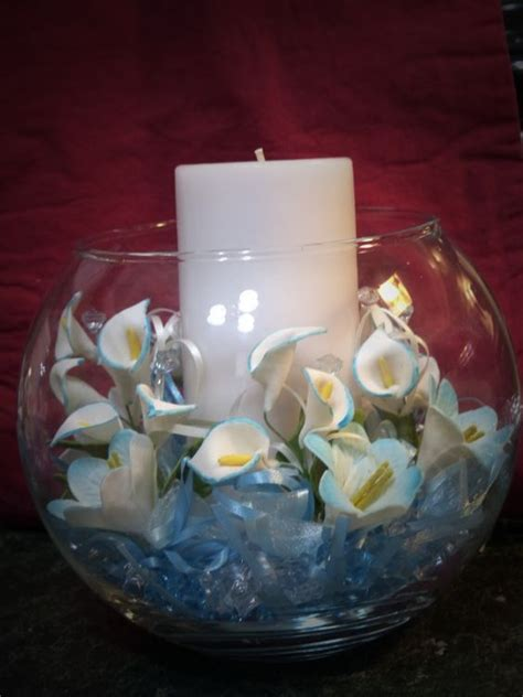 elegant centerpieces for baby shower baptism by