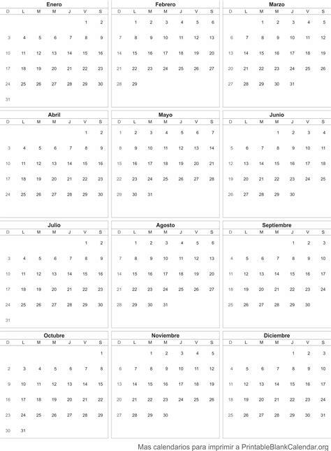 Calendario P Imprimir 2016 Calendario 2016 Para Imprimir Calendarios Para Imprimir