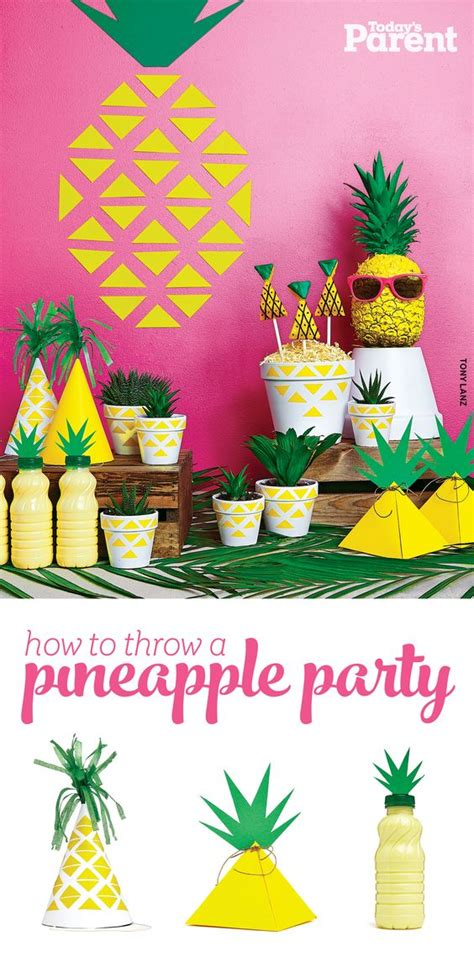 themed parties for summer how to throw a pineapple party birthdays summer and