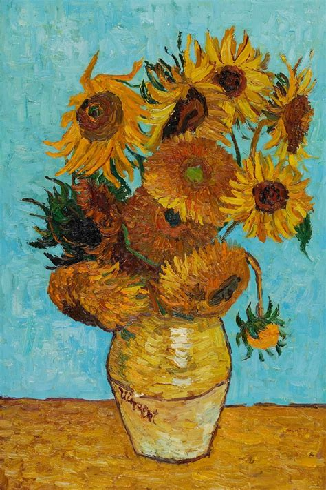 van gogh sunflower tattoo sunflowers vincent gogh reproduction vincent