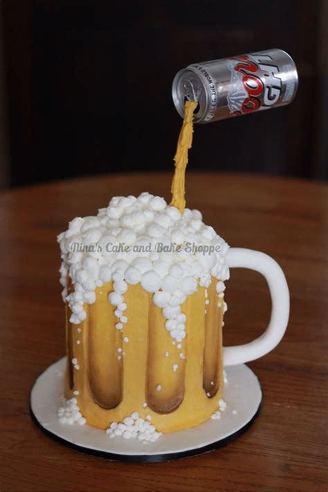 beer cake coors light beer mug gravity cake birthday cake nina s