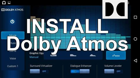 how to install dolby atmos on android download apk zip file how to install dolby atmos on android easy method
