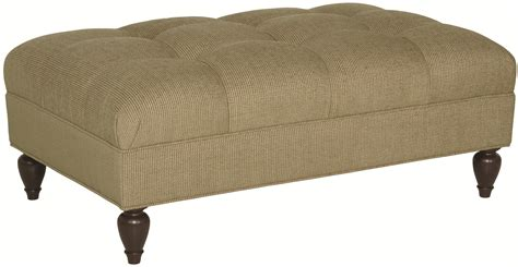 bernhardt cocktail ottoman bernhardt colston rectangular cocktail ottoman with button