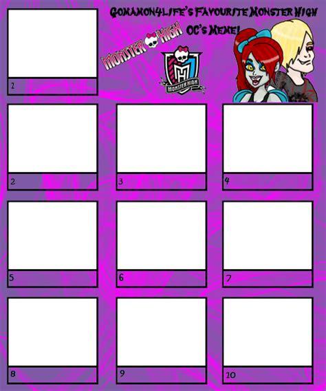 Monster High Memes - monster high oc meme by gomamon4life on deviantart