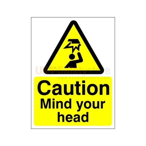 signs your is in caution mind your sign safety signs uk safety store