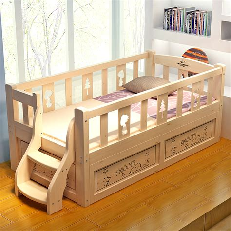 beds with rails toddler bed with rails modern mygreenatl bunk beds
