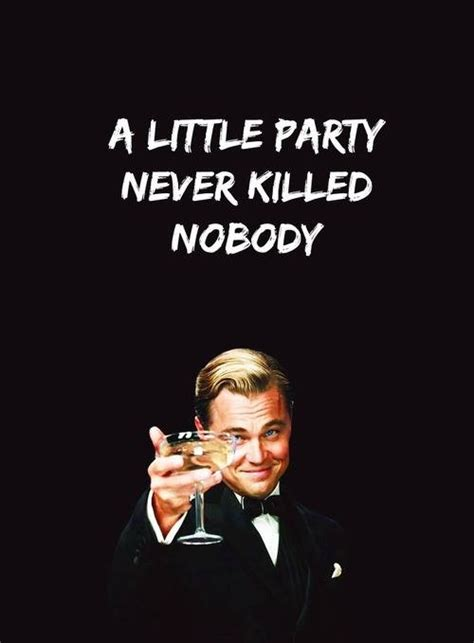 lying theme in the great gatsby a little party never killed nobody come and join us at