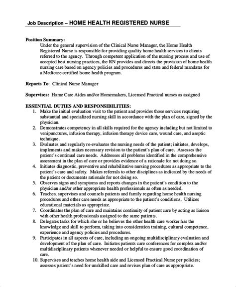 rn description emergency room registered description free pdf format 10