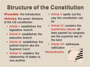 the u s constitution lesson ppt