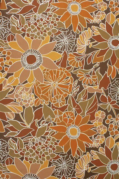 70s floral 70s vintage floral wallpaper vintage wallpapers