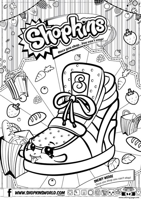 shopkins coloring pages birthday print shopkins sneaky wedge coloring pages landscape