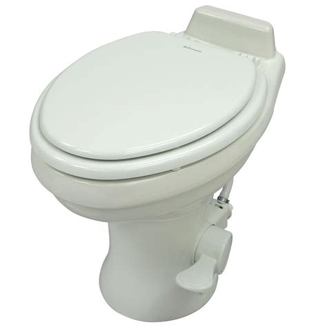 Rv Toilet Plumbing by Dometic High Profile 320 Series Gravity Discharge Toilets White Dometic 302320081 Rv