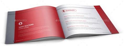 cv booklet design resume booklet design indesign by janysultana graphicriver