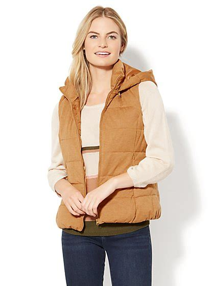 Lust List Shearling Puffer Vest by Jackets For S Coats Ny C