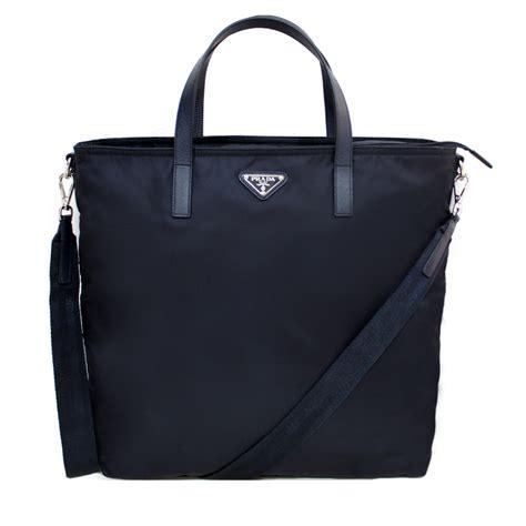 Tote Bag Prada prada bn2530 tessuto convertible shopping tote bag