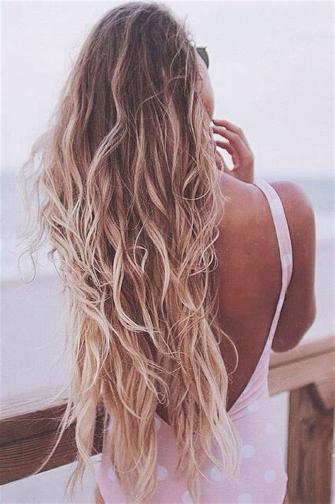 how does the beach look hair style look beach waves hair the 1 summer hairstyle trend