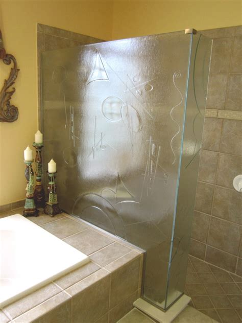Cast Glass Shower Doors Cast Glass Shower Doors In Ft Myers Fl