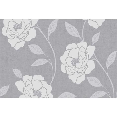 grey wallpaper wilkinsons wilko molly floral grey wallpaper at wilko com