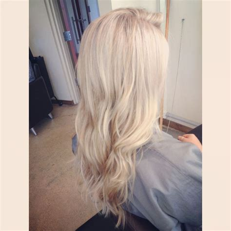 pictures of white hair with highlights white blonde highlights my work pinterest bright