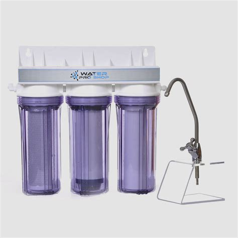 Water Filter For The Sink by 3 Stage Sink Water Filter System Sediment