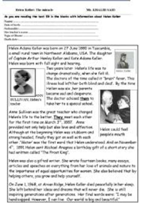 helen keller biography activities all these worksheets and activities for teaching helen