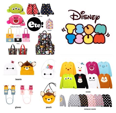 Tsum Tsum New new tsum tsum clothing and merchandise released by