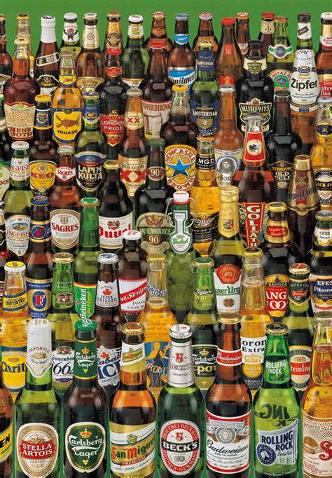 jigsaw puzzle 1000 worldwide bottlescollection by