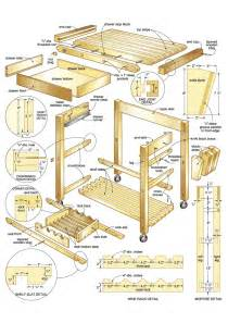 Kitchen Island Blueprints by Butcher Block Island Woodworking Plans Woodshop Plans