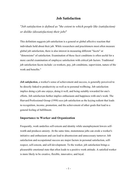 research paper on employee satisfaction 28 satisfaction research papers