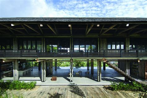 House Design Malaysia Architecture Reclaimed Telegraph Poles House Malaysia Whbc