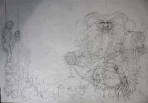 Finntroll Sketch Of New Album Artwork Available