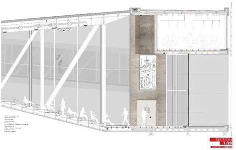 Auditorium Section by 17 Best Images About Architecture Presentation Boards On
