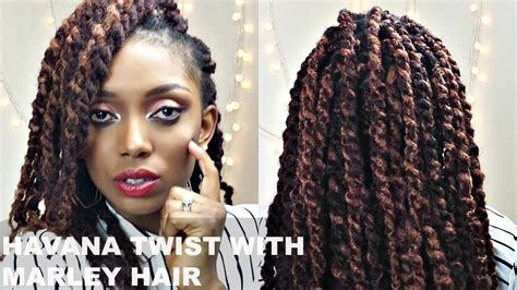 havana twists on very short hair havana twists with marley hair tutorial short natural
