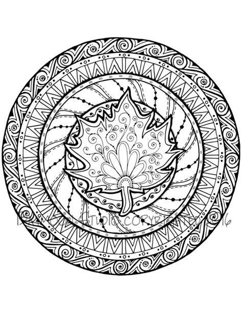 fall medallion coloring pages printable fall best free