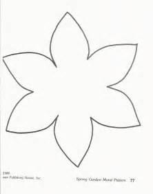 Stempel Design Vorlagen Flower Template 3964 Ausmalen Black Ausmalbilder Und Stempel