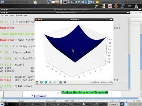 python tutorial vtk tutorial by abhishek 3d plotting using python youtube