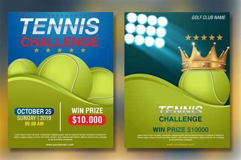 Tennis Tournament Flyer Templates tennis tournament flyer template