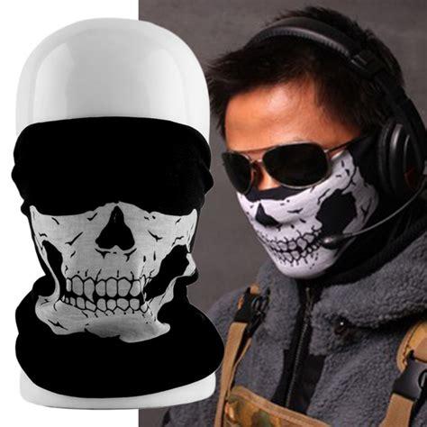 Masker Motor S9 Balaclava Masker Skull Cap Skull Tengkorak Murah aliexpress buy cool tubular skull ghosts ghost mask bandana motor bike sport scarf